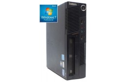 LENOVO TC M91P, i5-2400, 4GB, 250GB HDD, DVD-RW, Win 7